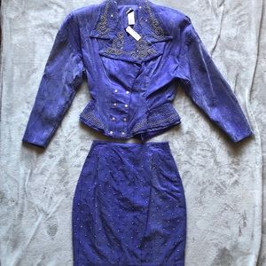 Dresses & Skirts - NWT vintage 2 piece set!